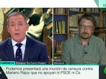 """Frame 5.730638 de: Xavier Domènech: """"No puede ser una anécdota que el PP sea el partido con más casos de corrupción de Europa"""""""