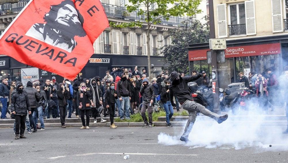 Manifestaciones contra la policía en Francia