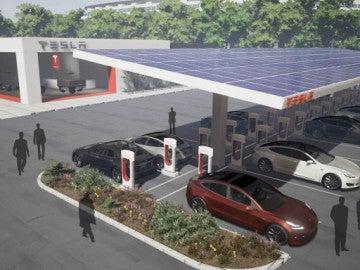 Supercargadores Tesla