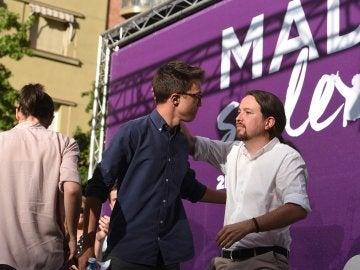 Pablo Iglesias e Íñigo Errejón, fundadores de Podemos