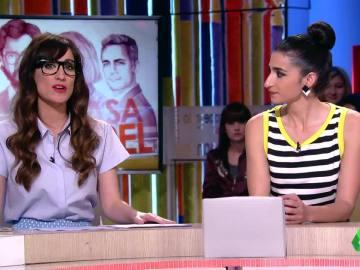 Ana Morgade y Alba Flores
