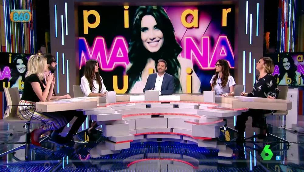 Pilar Rubio visita Zapeando