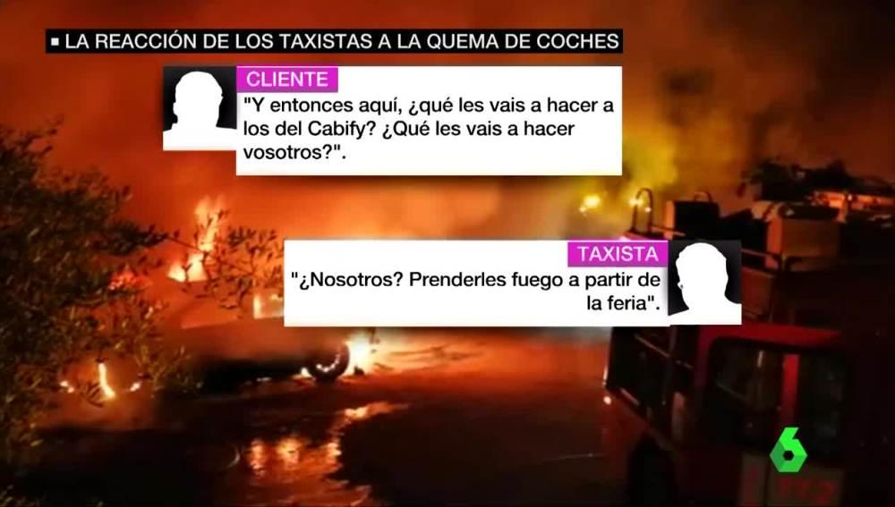 Extracto de la conversación en taxi en Sevilla