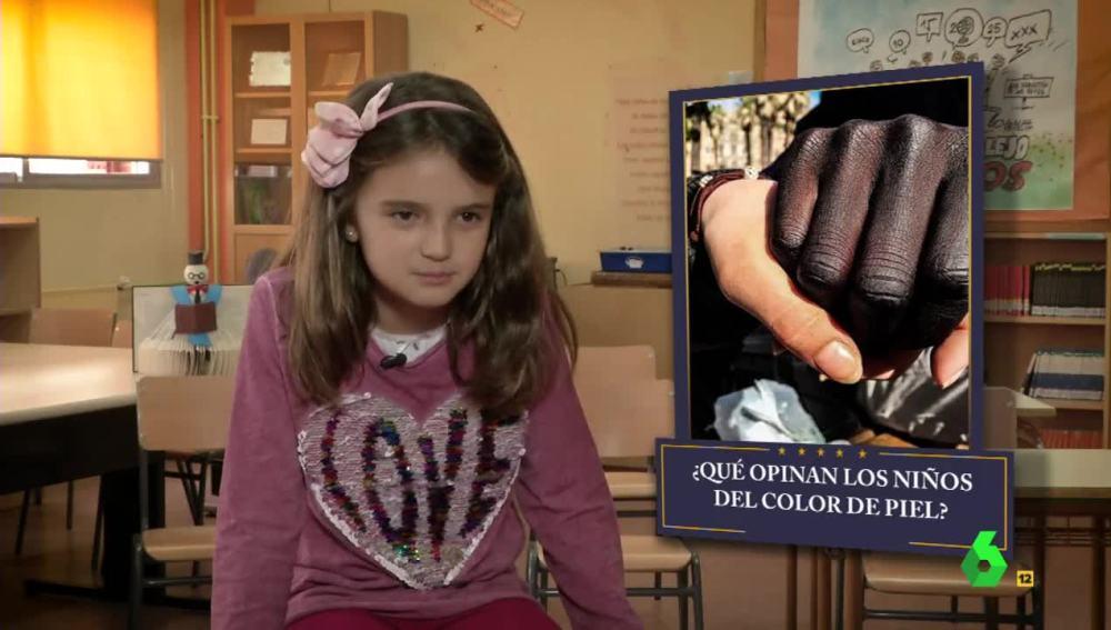 Una niña en El Intermedio
