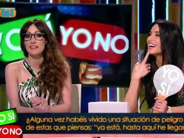 Ana Morgade y Pilar Rubio
