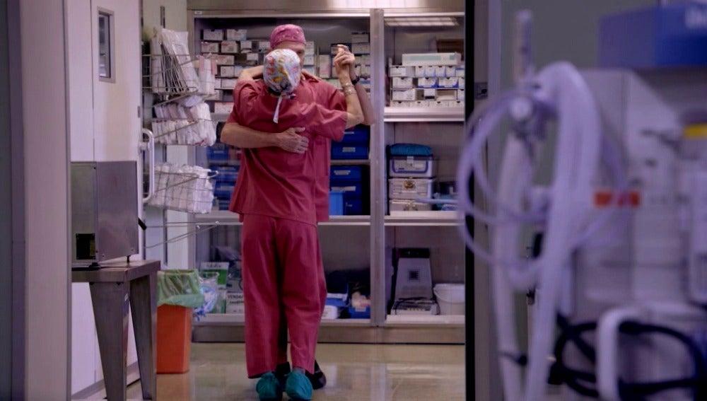 Baile en el Hospital La Paz