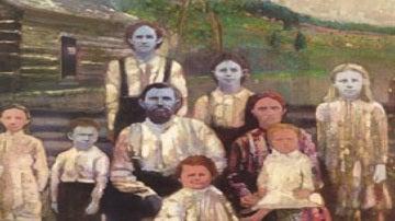 El clan con la piel azul