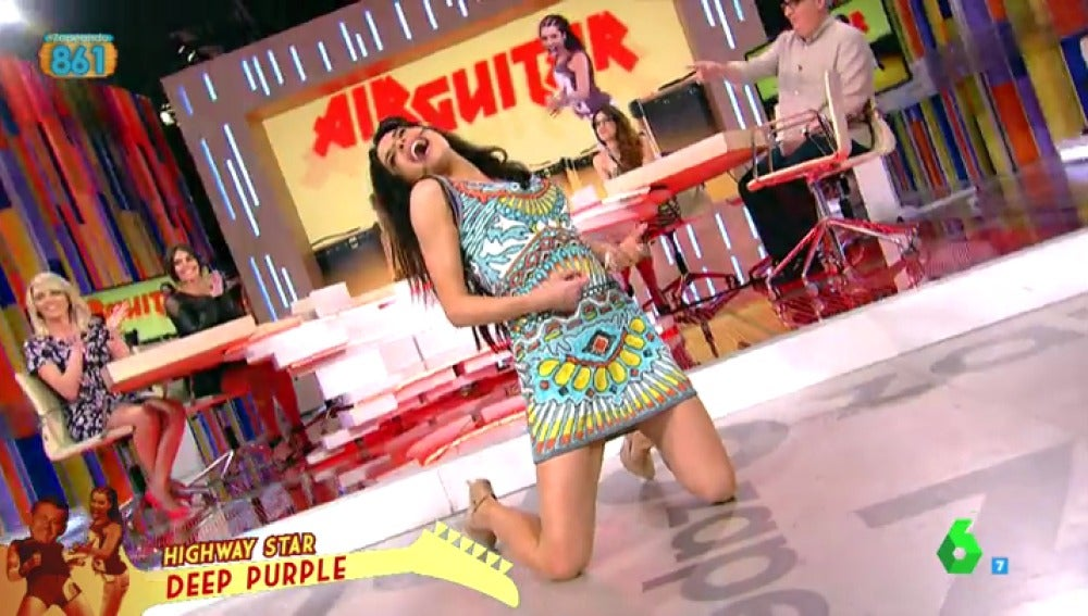 Pilar Rubio en Zapeando