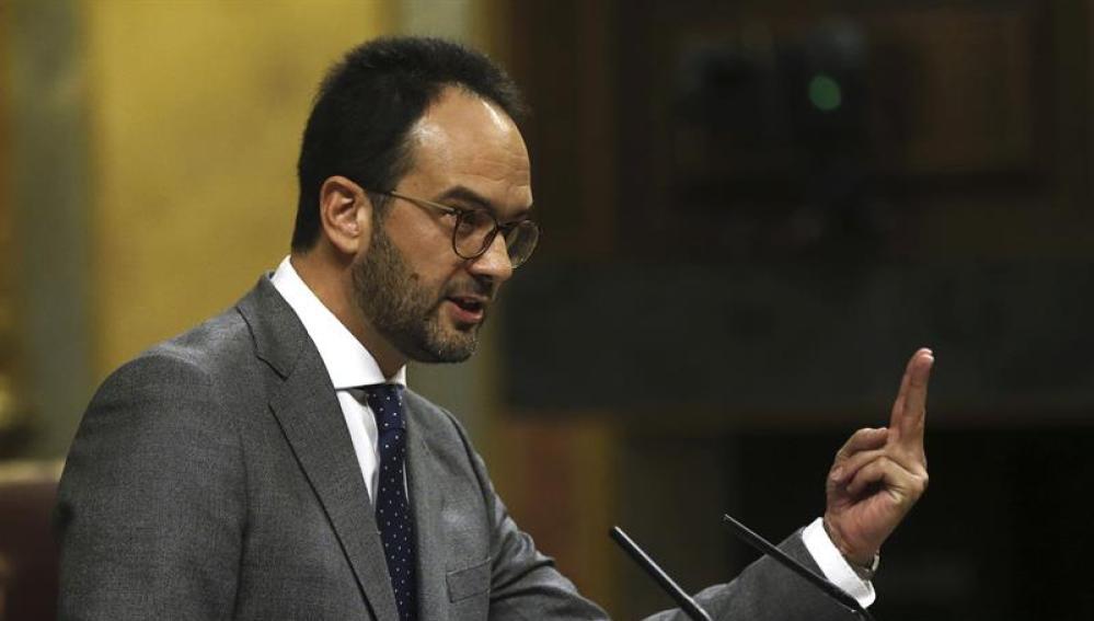 Resultado de imagen de Antonio Hernando dimite como portavoz del grupo parlamentario socialista