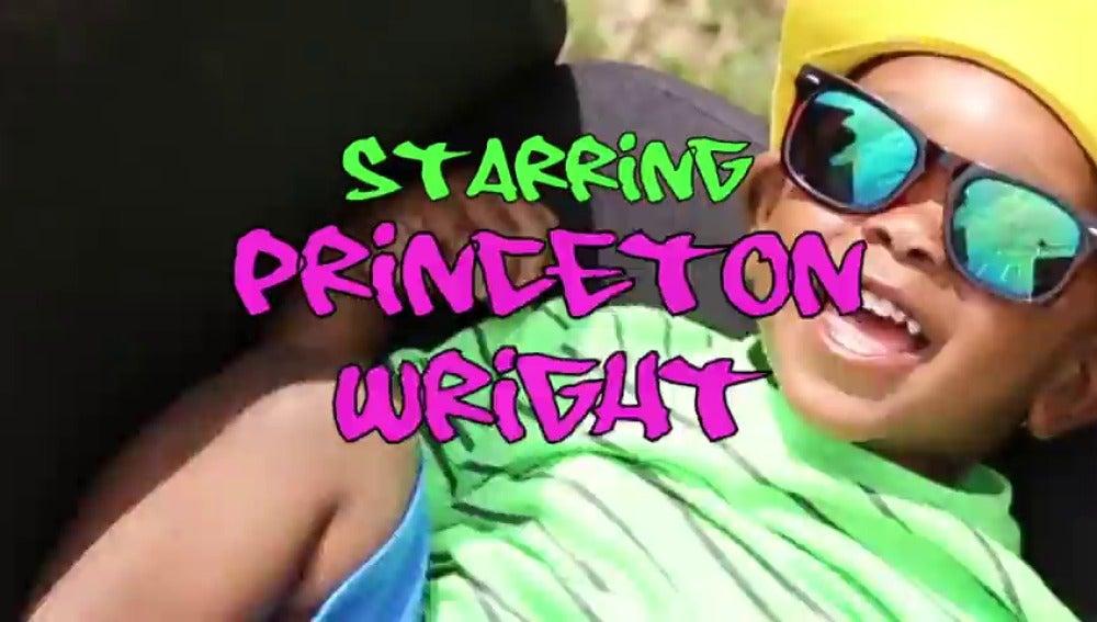 Frame 7.997666 de: Felicitan el cumpleaños a un niño de dos años con una entrañable parodia de 'El Príncipe de Bel-Air' que arrasa en las redes