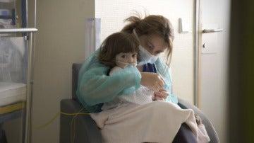 Valeria en el Hospital La Paz
