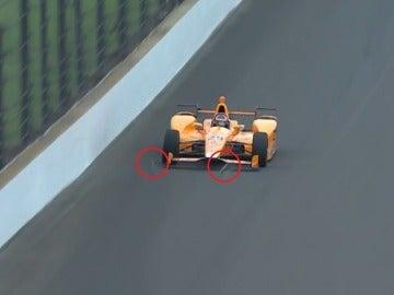 Alonso desintegra a dos pájaros