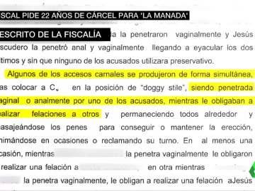 Extracto del auto de la fiscalía de Navarra sobre la violación de San Fermín
