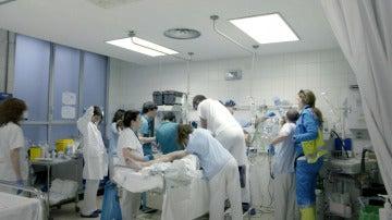 Urgencias en el Hospital La Paz
