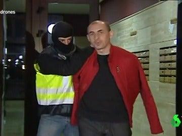 Primera detención en España de Zviad Darsadze