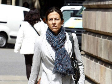 Anna Vidal, esposa de Oriol Pujol