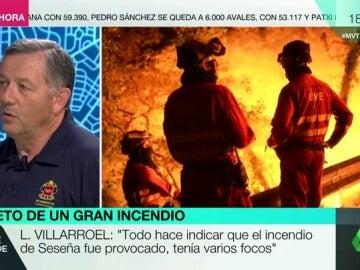 Frame 280.263251 de: El incendio de Arganda, Seseña o de la torre Windsor: ¿cómo trabajan los bomberos en situaciones tan complicadas?