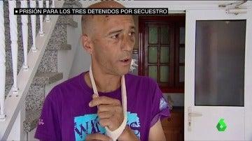 Prisión para los tres secuestradores de Juan Ramón, aún con secuelas