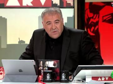 Antonio García Ferreras en el plató de ARV