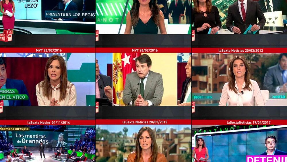 Así informó laSexta sobre las corruptelas de Ignacio González