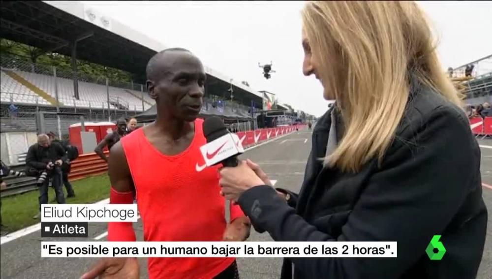 Eliud Kipchoge, atleta keniano y estrella del Maratón
