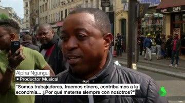 Un ciudadano francés critica a Le Pen
