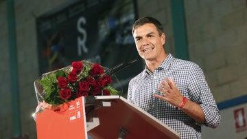 El exsecretario general del PSOE y candidato a las primarias del 21 de mayo