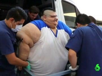 El hombre más gordo del mundo será sometido a dos intervenciones