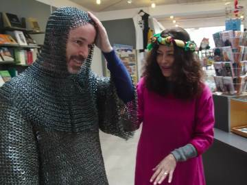 Luis Canut y Patricia Pérez, de vikingos