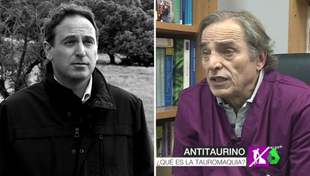 Debate entre taurinos y antitaurinos