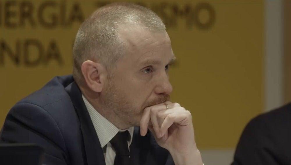 Daniel Navia, secretario de Estado de Energía