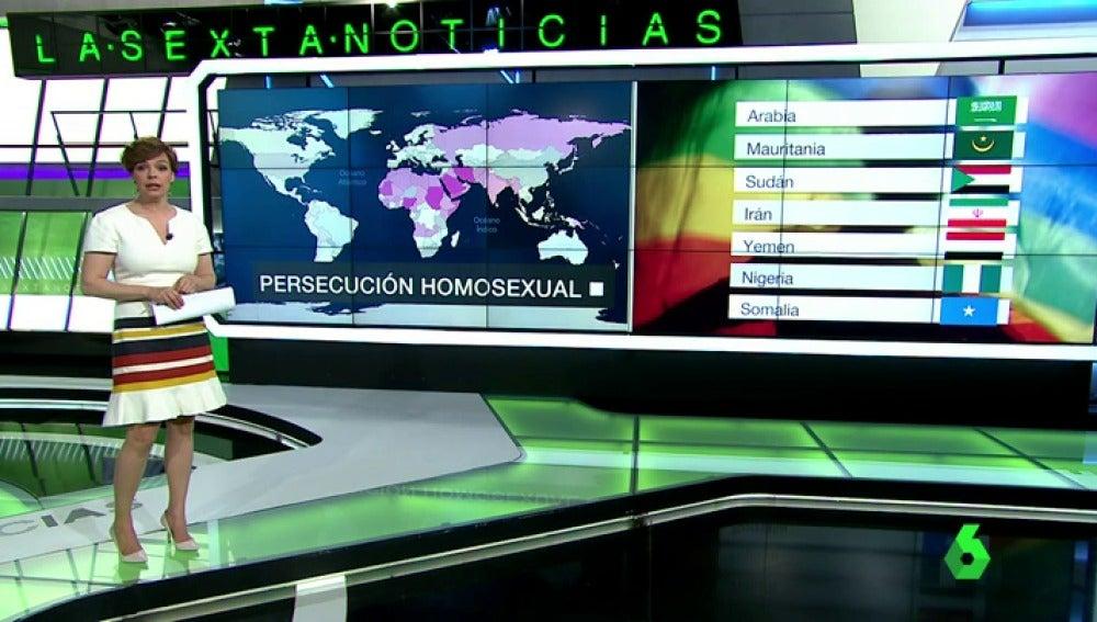 Hasta 70 países persiguen con sus leyes a las relaciones entre personas del mismo sexo