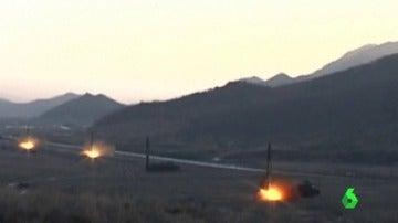 Corea del Norte prueba con éxito el lanzamiento de un nuevo misil balístico