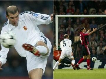 Zidane y su histórica volea en Glasgow