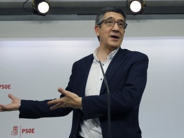 El candidato a liderar el PSOE Patxi López