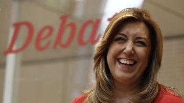 Susana Díaz en el debate del PSOE