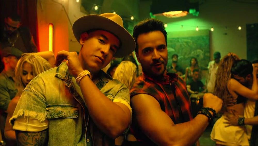 Daddy Yankee y Luis Fonsi en el vídeo de 'Despacito'
