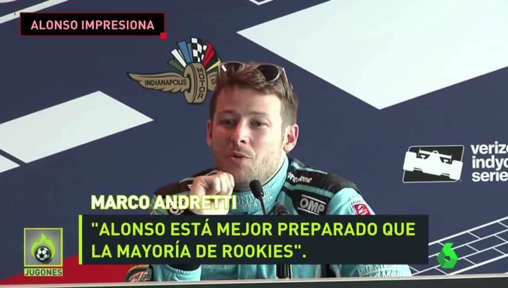 Marco Andretti, piloto de la IndyCar