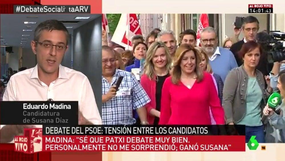 Eduardo Madina en ARV