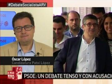 Óscar López en Al Rojo Vivo