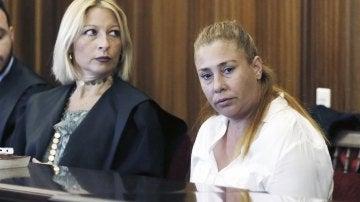 María del Carmen Q.B., de 44 años, la heladera acusada de un homicidio contra un hombre de 62 años