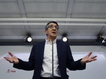 Patxi López, candidato a la Secretaría General del PSOE