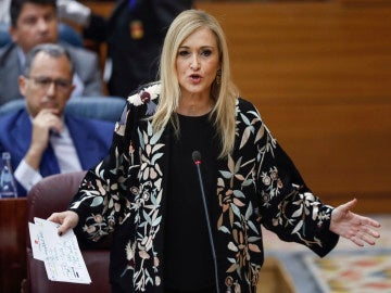La presidenta regional, Cristina Cifuentes