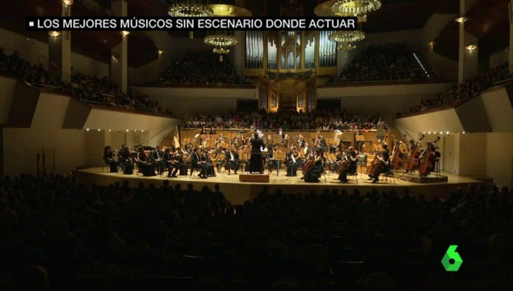 Frame 21.372739 de: La mejor generación de músicos de España no toca en España: denuncian la falta de recursos de auditorios y contrataciones opacas