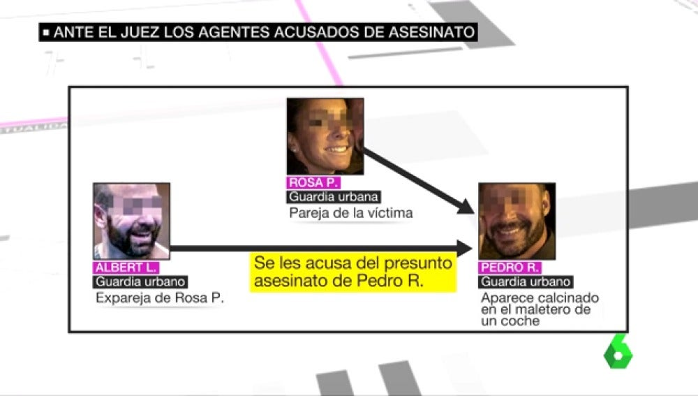 Agentes acusados de asesinato