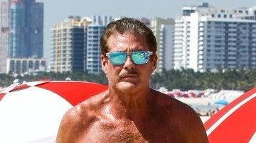 David Hasselhoff, un hombre de pelo en pecho