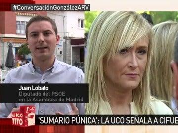 Juan Lobato, en ARV