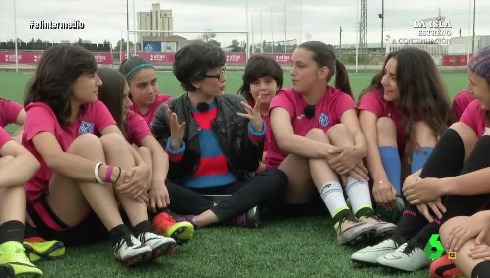 Thais Villas con el AEM de Lleida