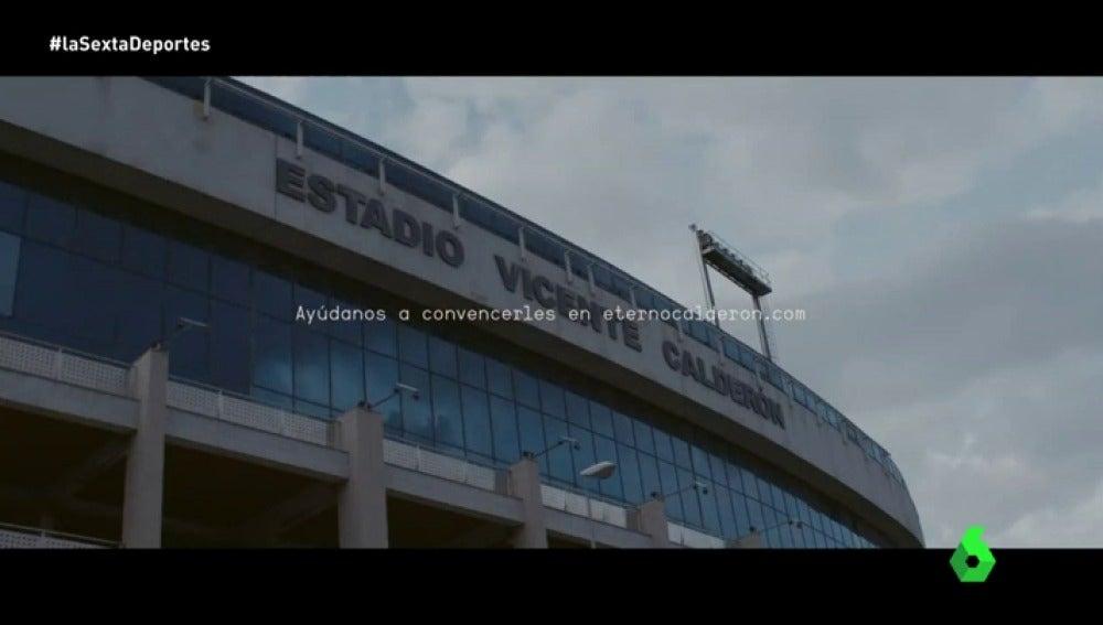 Frame 66.980287 de: 'Eterno Calderón', la propuesta del fútbol modesto para que el Atlético done los 'órganos' de su estadio