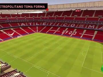 Frame 16.078704 de: ¿Cómo será el nuevo estadio del Atleti?